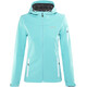 Meru Lahti Softshell Jacket Women turquoise